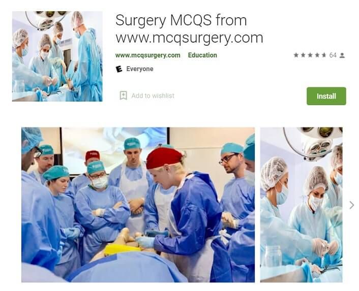 MCQSurgery App